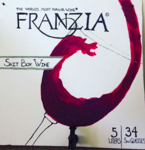 Franzia Boxed Wine